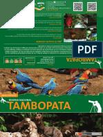 Mapa Reserva Nacional Tambopata