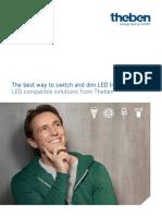 LED-Broschuere A4 en Web