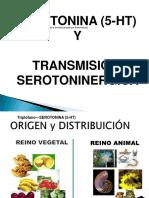 Serotonina y transmision serotoninergica