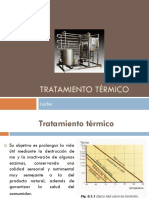 TRATAMIENTO TÉRMICO EN LECHE.