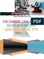 Banking Mantras December 2016 One Liner Question Bank PDF Part 1