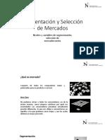 Segmentación y Selección de Mercados (1)