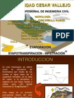 EVAPORACIÓN.HIDROLOGÍA-1