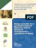 Manejo sostenible de la agrobiodiversidad de tubérculos andinos