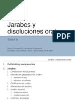 Tema 9.- Jarabes y Disoluciones Orales