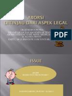 Aspek Hukum Pada Aborsi