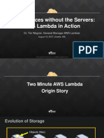 Serverless Architecture Wagner