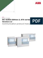 1MRK511393-UEN - En Communication Protocol Manual IEC61850 Edition 2 670 Series Version 2.2