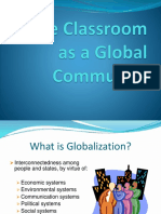 Classroom as Globalcommunity