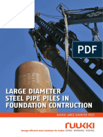Ruukki Large Diameter Steel Piles