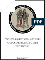 TCCC Quick Reference Guide 2017