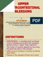 Upper Gastrointestinal Bleeding 4 Juni 2009