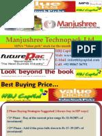 Manjushree Technopack Ltd (Code 532950) - HBJ Capital's (MPS Unit) Value Pick Stock Reco of Dec'09