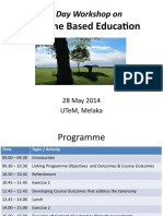 UTEM OBE Assessment CQI Wksh May28 2014