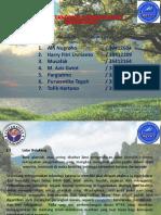 Presentation Ilmu Teknologi Pengetahuan Lingkungan