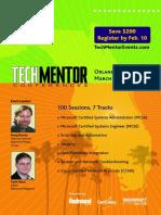 2006 Techmentor Orlando
