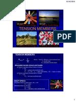2. Tension Members