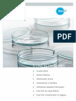 Petri Dish-Borosilglass 3165