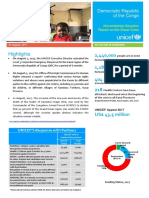UNICEF DRC Kasai Situation Report 30 August 2017