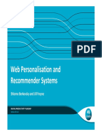 recommendation personalization tutorial