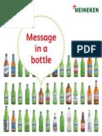 2017 Heineken Message in a Bottle