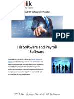 2017 Recruitment Trends in HR Software