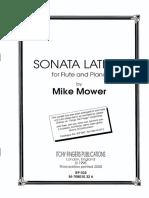 Sonata Latino - Mower