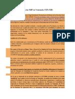 La Ley de Precios y Las NIIF en Venezuela