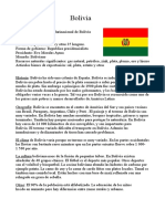 Bolivia historia