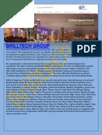 Brilltech Electrical Substation for Change Voltage