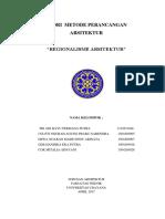 Regionalisme Dalam Arsitektur.docx