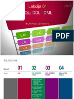 Kurs Baze Podataka - Deo Jedan - PPT Format