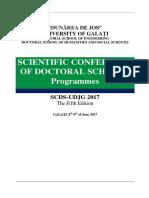 Program Detaliat Al Conferintei 2017 FINAL