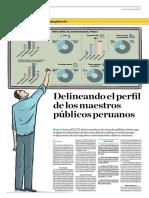 Delineando El Perfil de Los Maestros Públicos Peruanos