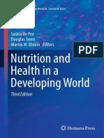 (Nutrition and Health) Saskia de Pee, Douglas Taren, Martin W. Bloem (Eds.)-Nutrition and Health in a Developing World -Humana Press (2017)