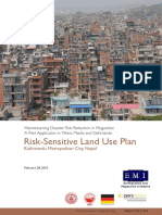 Risk Sensitive Land Use Plan, Kathmandu