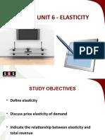 Eco10a Study Unit 6 - Elasticity (2017)