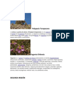 Plantas Por Region