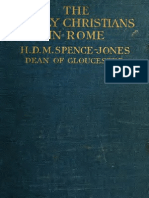 (1910) The Early Christians in Rome