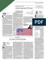 Los Huracanes y Un Mensaje Para Trump