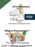 Basics of Procurement