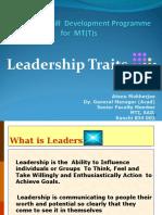 Leadership Session Slides