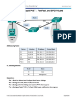 Assist 2.2 Lab - Configuring Rapid PVST+, PortFast, and BPDU Guard.docx