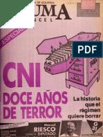 Cni Doce Años de Terror
