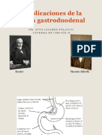 Complicaciones de La Cirugía Gastroduodenal - Agosto2011