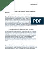 TP2 Periodo 1810-1829 Saavedra y Moreno