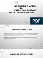 Learning Checks Chapter 20