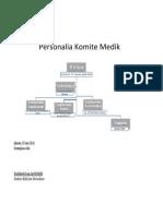 struktur organisasi KOMED