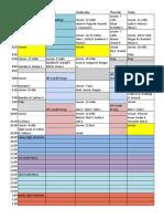 schedule 9-11
