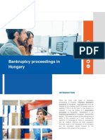 Bankruptcy proceedings in Hungary